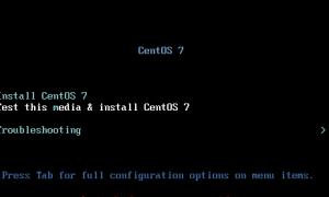 DELL服务器利用U盘安装CentOS7系统